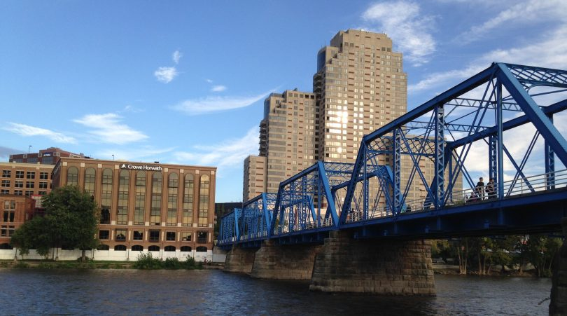 Grand Rapids' Blue Bridge